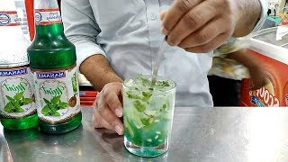 How to make mojito🍀 | The mocktail house