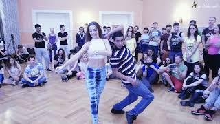 Dadinho + Anna - Brazuka Dance Festival Moscow 2017 - Can't Hold us Down