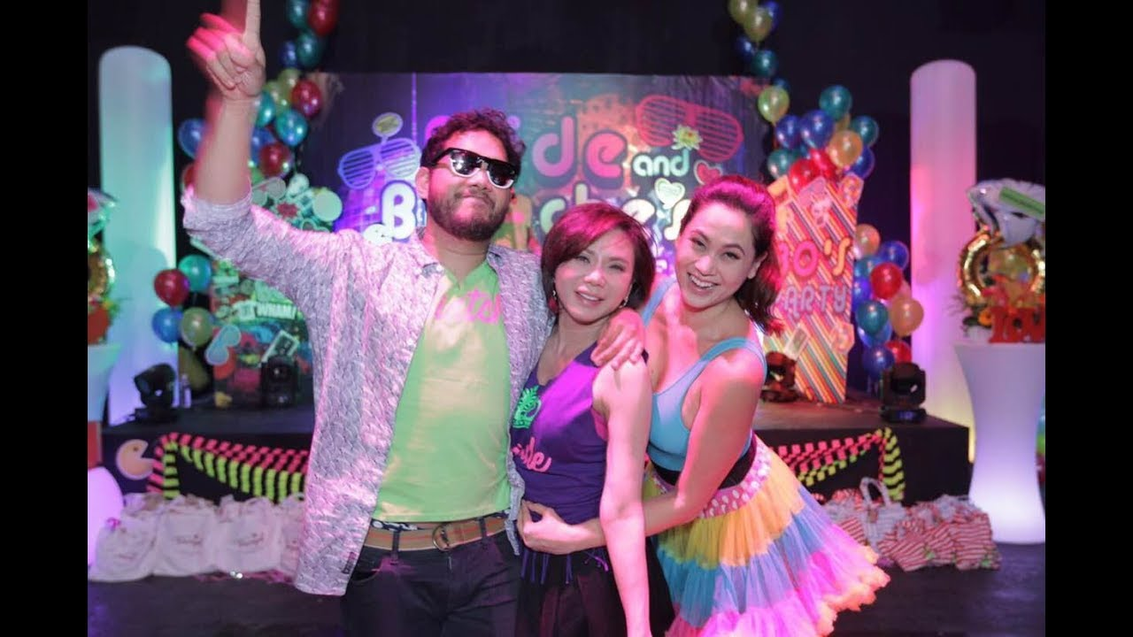 Dr Vicki Belo 80s Themed Wedding Party Youtube