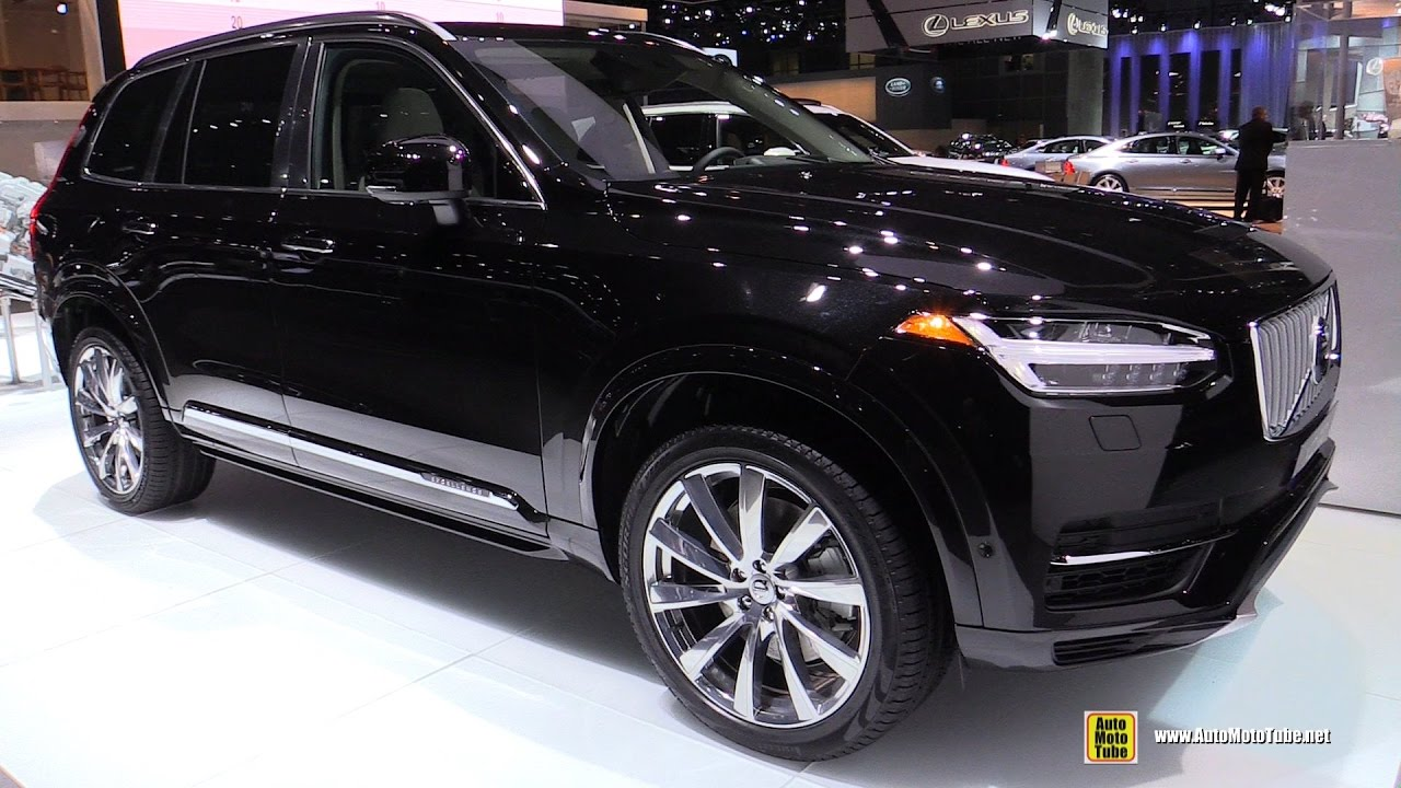 2017 Volvo Xc90 Excellence T8 Plug In Hybrid Exterior And Interior Walkaround 2016 La Auto Show You