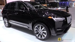 2017 Volvo XC90 Excellence T8 Plug In Hybrid - Exterior and Interior Walkaround - 2016 LA Auto Show