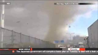 Unusual Weather Alert: Tornado Near Tokyo