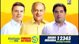 12345 Bruno Miranda - Deputado Estadual - PDT MG - Eleições 2014