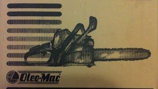 Обзор бензопилы Oleo-Mac 941 С