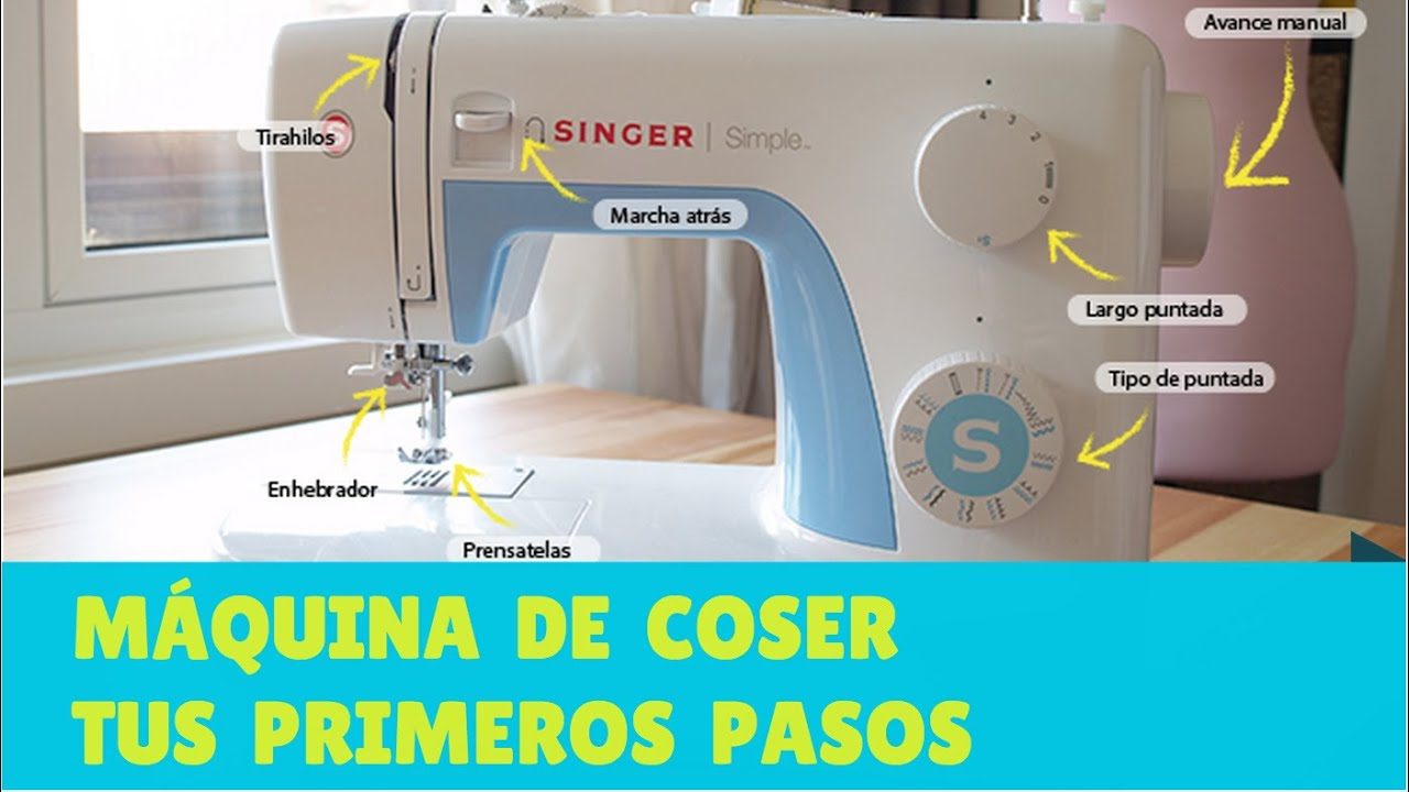 Aprende A Coser A Máquina Primeros Pasos Con Una Máquina De Coser Con Telas Divinas En Español Youtube