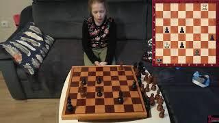 Уроки шахмат с Вероникой Юдиной № 003