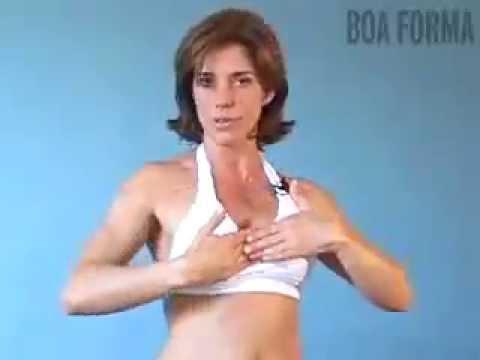 Aumentar uma forma de um peito