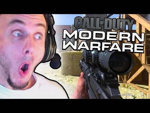 Reacting to Modern Warfare Multiplayer Gameplay...
