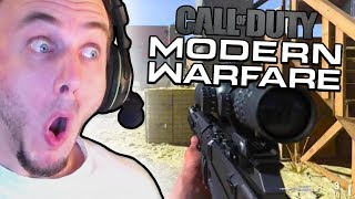 Reacting to Modern Warfare Multiplayer Gameplay...