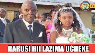 Harusi Hii Lazima Ucheke Hata Kama Umenuna