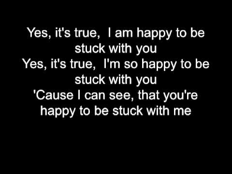 Huey Lewis Stuck With You Lyrics - Key of Bb