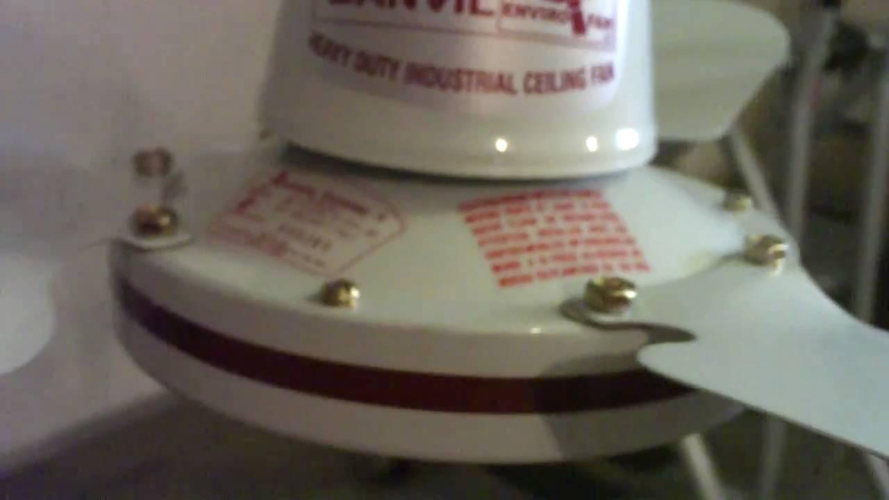 36 Banvil Envirofan Bronze Line Industrial Ceiling Fan