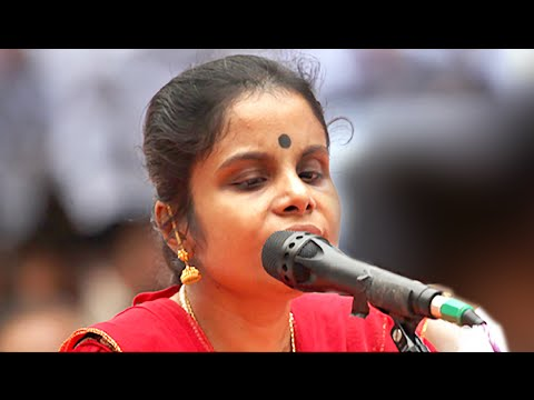 Vaikom Vijayalakshmi Songs Heart Touching Live Performance | Malayalam Film Awards 2015