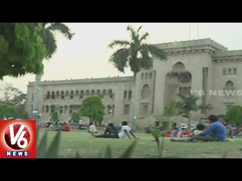 Special Story On Greenery In Osmania University Campus | OU Centenary Celebrations | V6 News