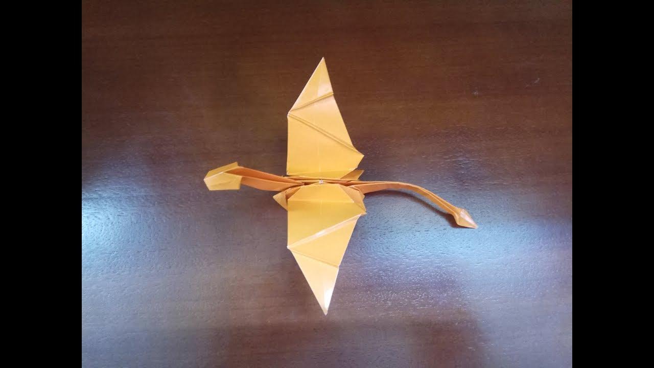 Origami easy Dragon tutorial - DIY (Henry Phạm) - YouTube | 720x1280