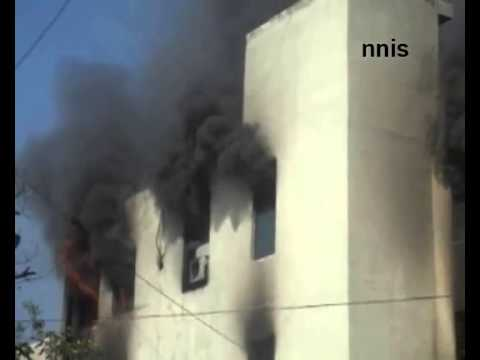 Major Fire Breaks Out In Delhi Courier Factory
