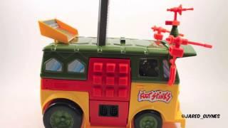 Platinumfungi TMNT Party Wagon NES Review