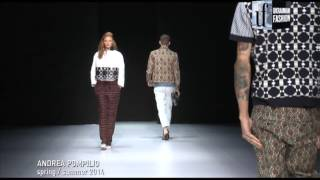 World Fashion. Andrea Pompilio s/s 2014. Official video