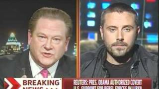 Ed Schultz Gets Pounded Into The Ground On Libya By Jeremy Scahill