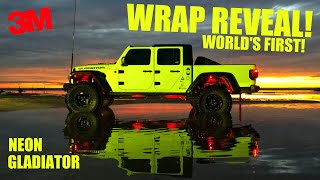 JEEP GLADIATOR WRAP REVEAL! *Wild Color *World's First
