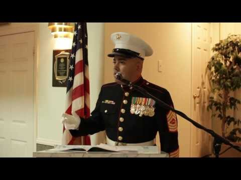 Motivational Speaker MSgt Montes 237th Marine Corps Ball Part 2