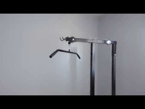 Xtremepower US Lat Machine With Row
