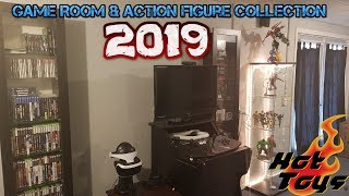 Game Room Tour 2019 Action Fig…