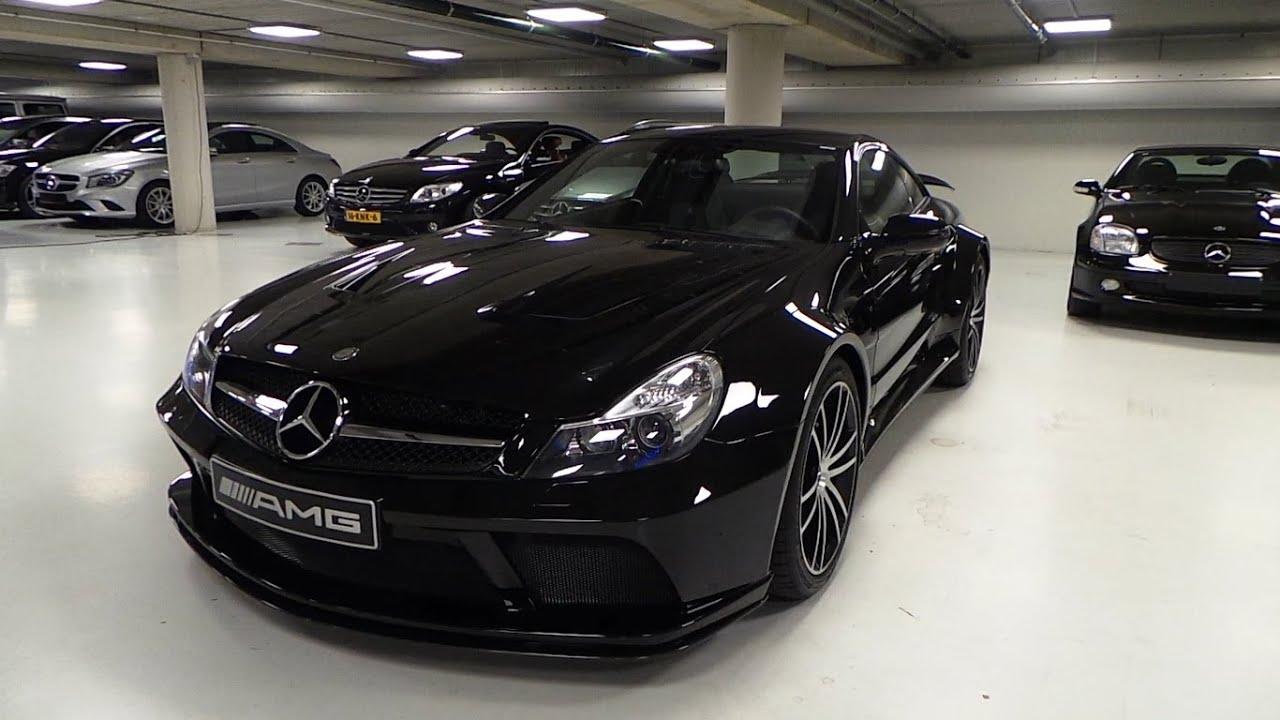 mercedes-benz sl65 amg black series start up in depth review