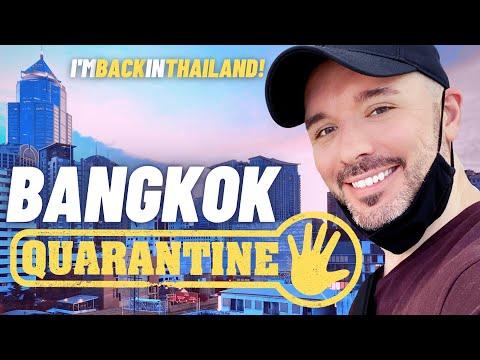 Surviving 14Day Bangkok Quarantine (ASQ)  FINALLY BACK IN THAILAND!
