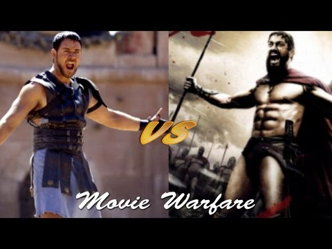 Movie Warfare: King Leonidas vs General Maximus