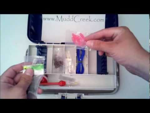 R2F 136 Piece Fishing Tackle Box Set Review by MUDD CREEK