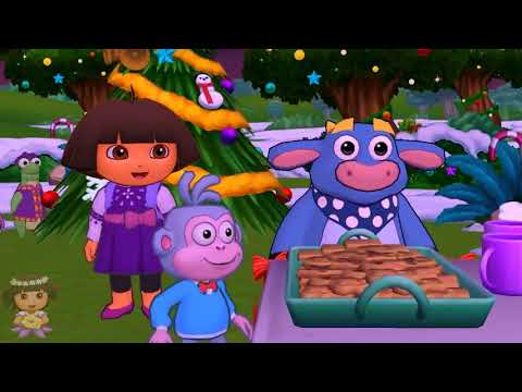 Dora and Friends the Explorer Cartoon ► We Wish you a Merry Christmas with Dora the Explorer!
