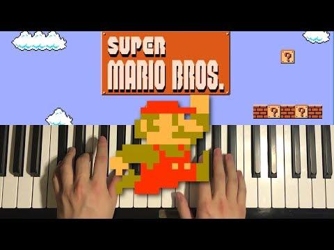 Super Mario Bros. - Theme Song (Piano Tutorial Lesson)