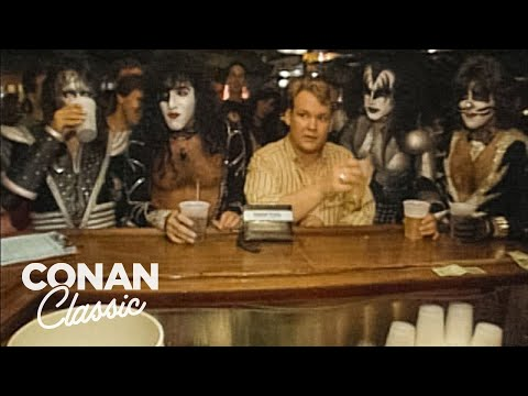 "Andy At The KISS Convention - ""Late Night With Conan O'Brien"""