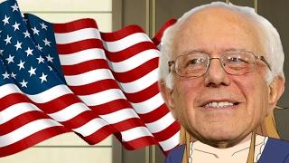Bernie Sanders Anime Opening