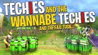 Techies and the Wannabe Techies - DotA 2