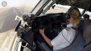LIGHT, FAST & STEEP MD-11F Takeoff: Inge of Lufthansa Cargo lifting off from Mumbai!!!  [AirClips]