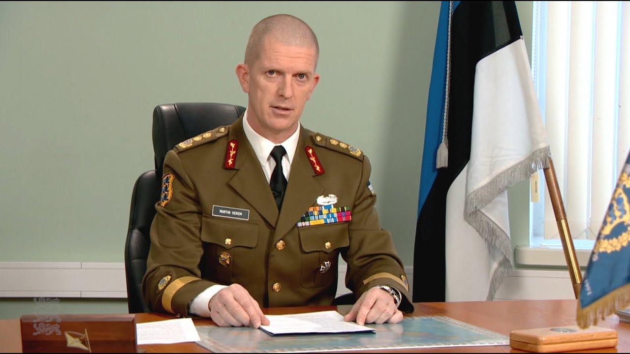Kaitseväe juhataja kõne Eesti Vabariigi 103. aastapäeva puhul