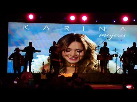 Karina en vivo Parte 4 en el Forum Santiago Del Estero 2017