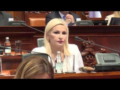 Mihajlovic - Narodna skupstina 29.06.17.