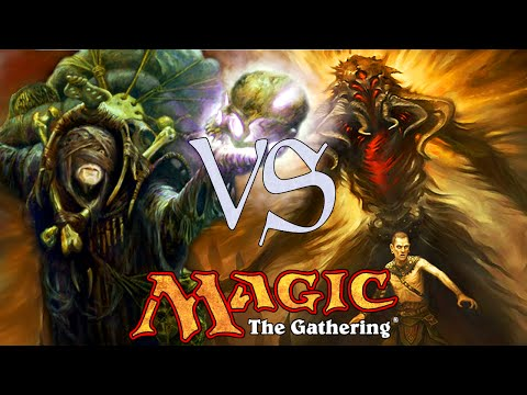MtG Modern Gameplay - Suicide Zoo VS Waste Not Storm