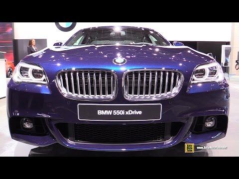 2016 BMW 5-Series 550i xDrive M Sport - Exterior and Interior Walkaround - 2016 Detroit Auto Show