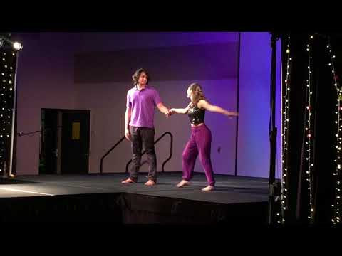 "Rachel and DB performing ""Humma"" Indian dance - 11/19/17"