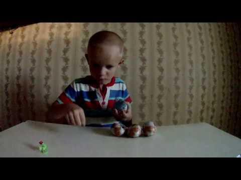распаковка ПОЕЗД ДИНОЗАВРОВ шоколадные яйца с игрушкой
