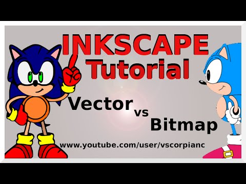 Inkscape Tutorial - (1) Vector Graphics (.svg) & Bitmaps What