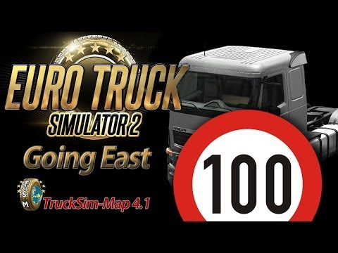 Euro Truck Simulator 2 Going East DLC [HD] ✪ Let's Play #100 |
