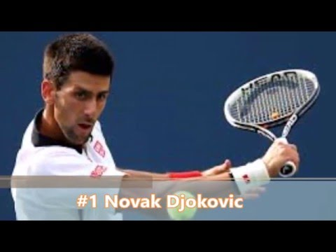 Top 10 Tennis Players 2016
