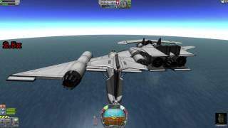 Kerbal Space Program: Atmospheric Docking Challenge