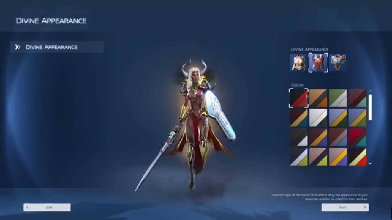 Skyforge - God Form Preview - YouTube