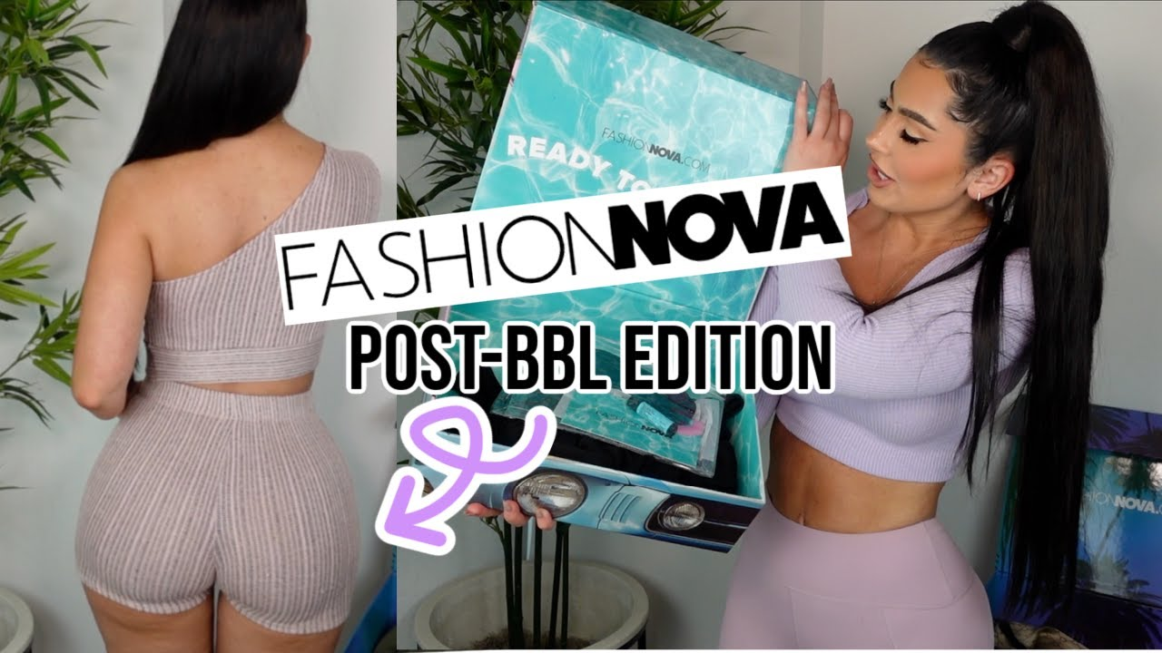 FIRST FASHION NOVA TRY-ON HAUL WITH MY NEW BODY!!!!